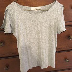 Loft Cold Shoulder T Shirt